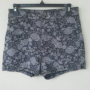 BDG High Rise Floral Shorts